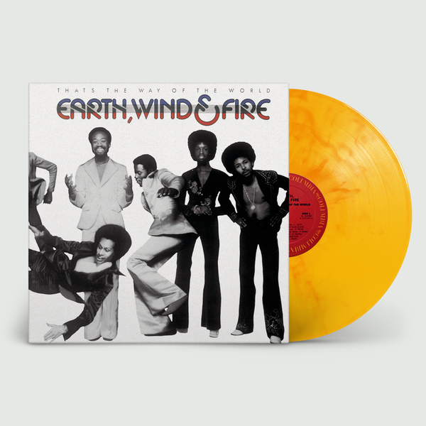 Earth, Wind & Fire: That's The Way Of The World: Limited Edition Orange & Yellow Mixed Colour Vinyl