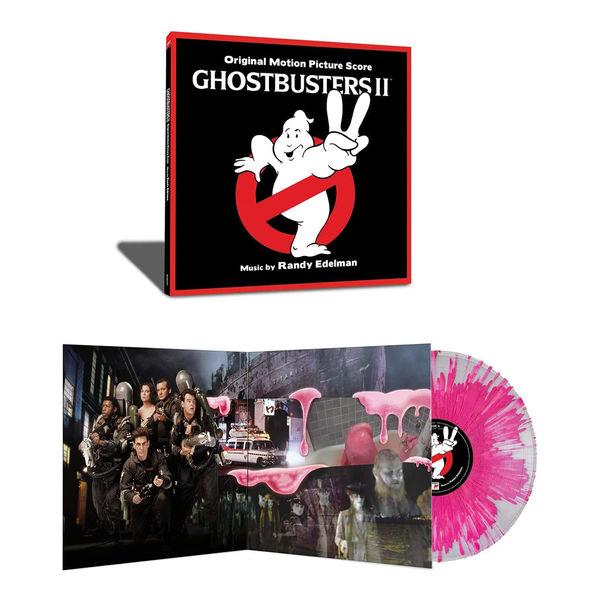 Original Soundtrack: Ghostbusters II: Limited Edition Gatefold Splatter Vinyl