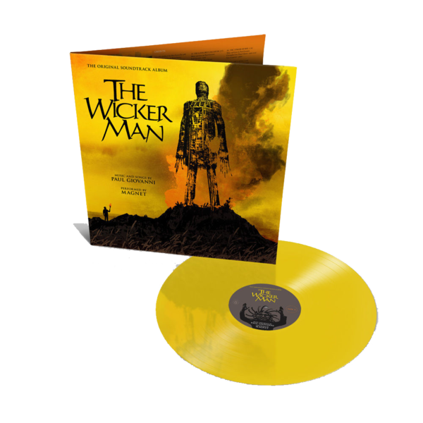 Original Soundtrack: The Wicker Man: 40th Anniversary Gatefold Yellow Vinyl LP