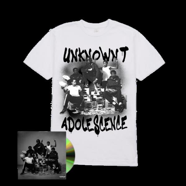 Unknown T: Adolescence Tee + CD Bundle