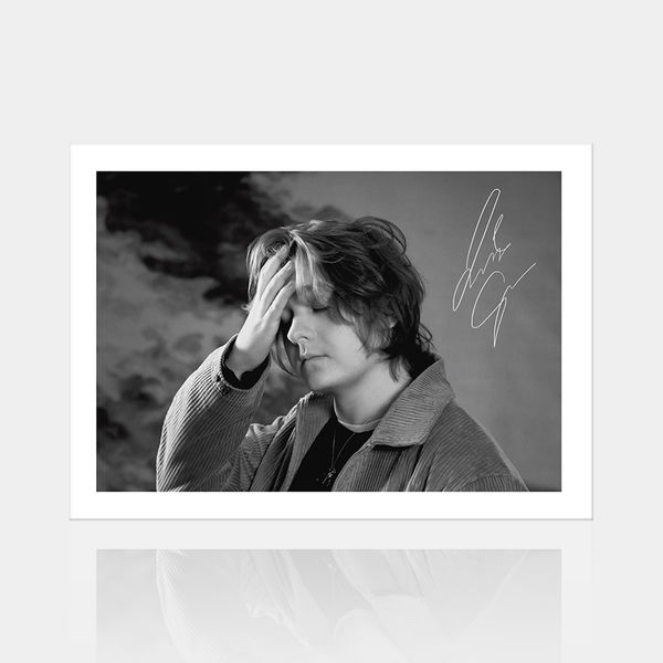 Lewis Capaldi: Limited Edition Signed B&W Print