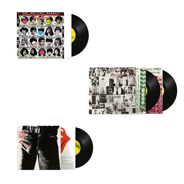 The Rolling Stones: Half-Speed Master 3 Album Bundle
