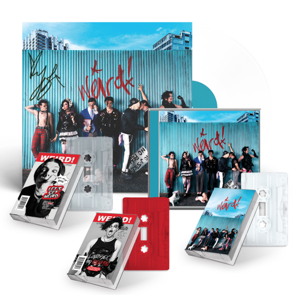 Yungblud: Weird! Signed Vinyl Mega Bundle 2