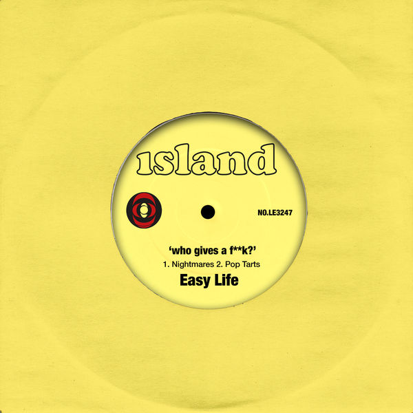 Easy Life: who gives a f**k: limited edition 7""
