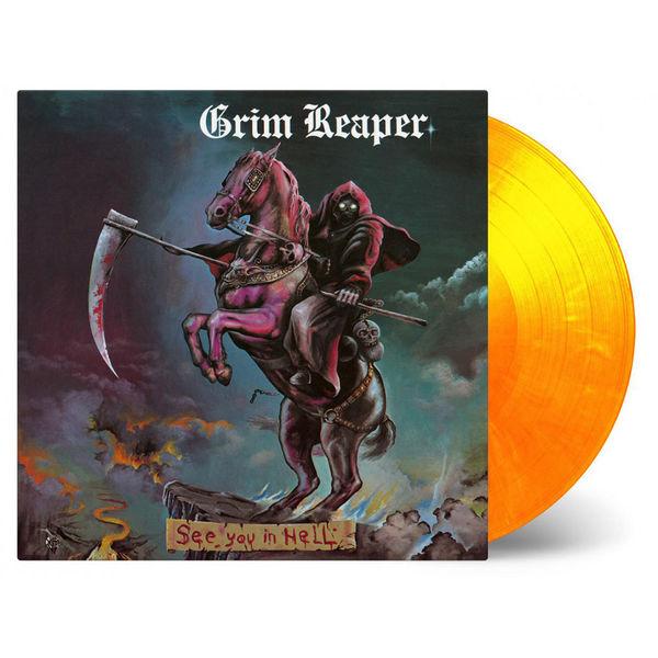 Grim Reaper: See You In Hell: Flaming Vinyl LP