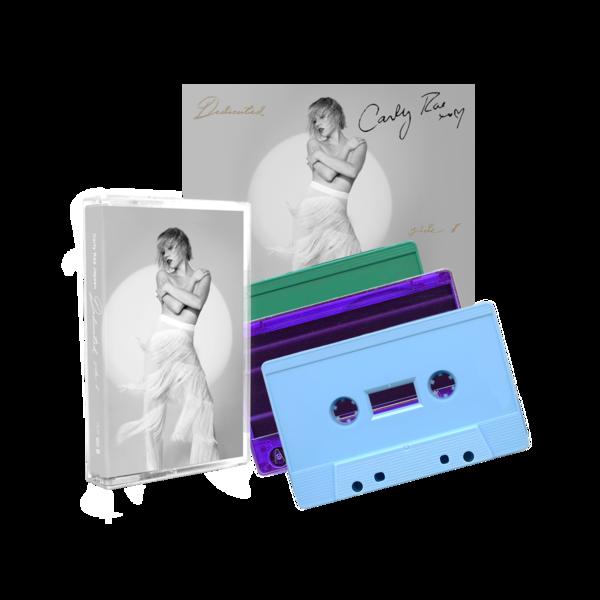 Carly Rae Jepsen.: Side B Cassette Trio + Signed Artcard