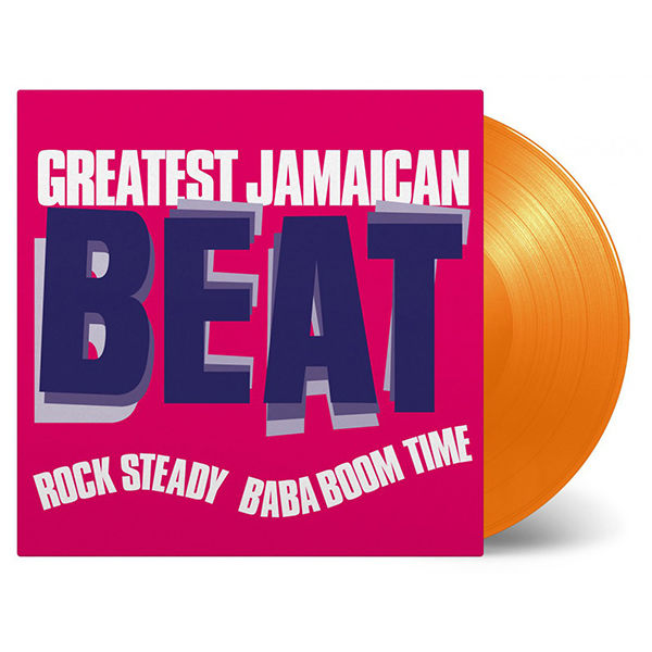 Various Artists: Greatest Jamaican Beat (Rock Steady Baba Boom Time): Limited Edition Coloured Vinyl