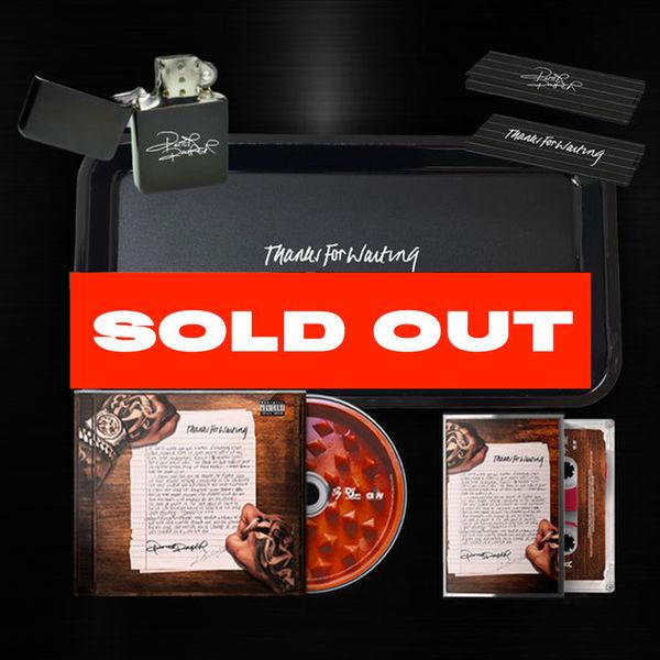 Potter Payper: Thanks For Waiting: CD, Cassette, Rolling Tray, Lighter & Rizla