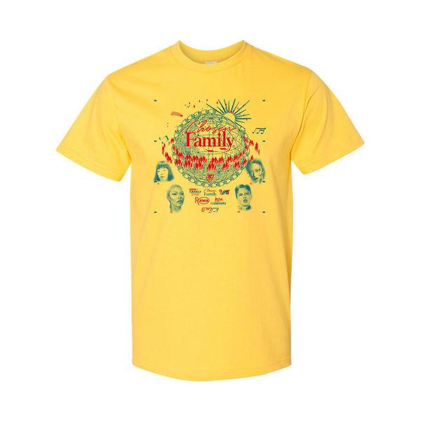 Rina Sawayama: Rina Sawayama 'Chosen Family' Yellow T-Shirt