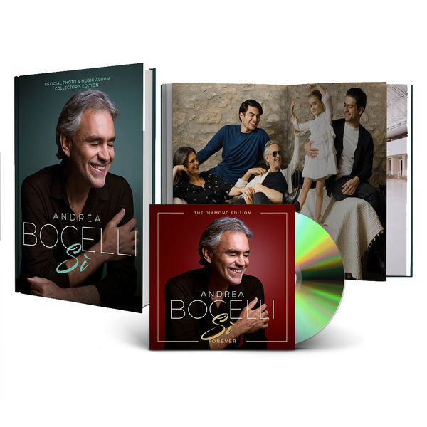 Andrea Bocelli: Si Forever + Coffee Table Book
