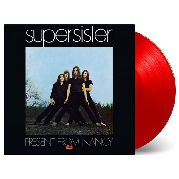 Supersister: Present From Nancy Red Coloured Vinyl