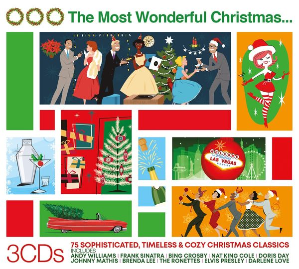 Various Artists: THE MOST WONDERFUL CHRISTMAS