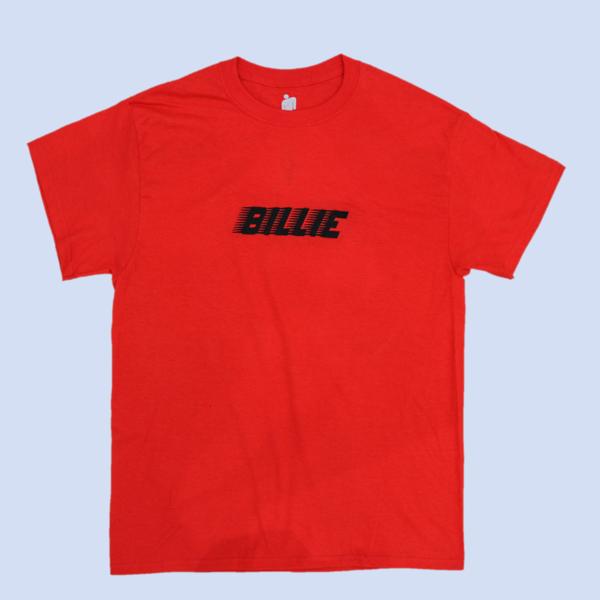 Billie Eilish: Racer Logo Red T-shirt