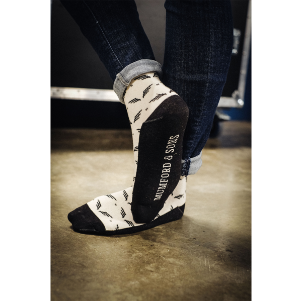 Mumford & Sons : Wings Socks
