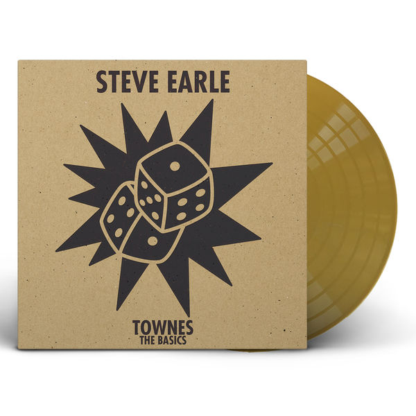 Steve Earle: Townes The Basics: Gold Vinyl LP