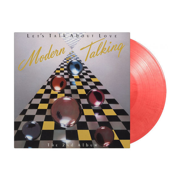 Modern Talking: Let's Talk About Love: Limited Edition Cherry Pink & Red Mixed Vinyl