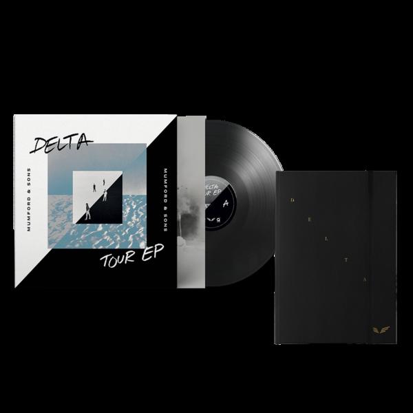 Mumford & Sons : Delta Diaries CD Book + Tour EP Vinyl