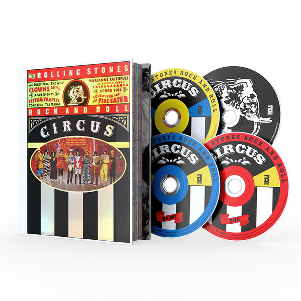 The Rolling Stones: Rock And Roll Circus DVD/Blu-Ray