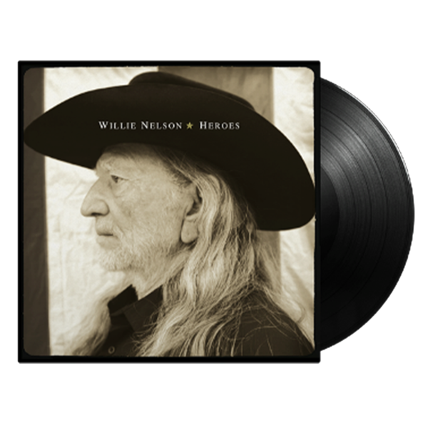 Willie Nelson: Heroes: Limited Edition Black Vinyl