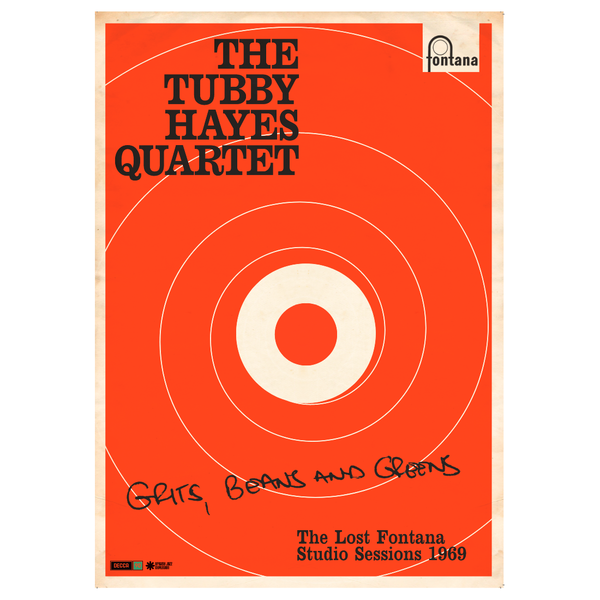 Tubby Hayes: LIMITED EDITION Grits, Beans & Greens litho