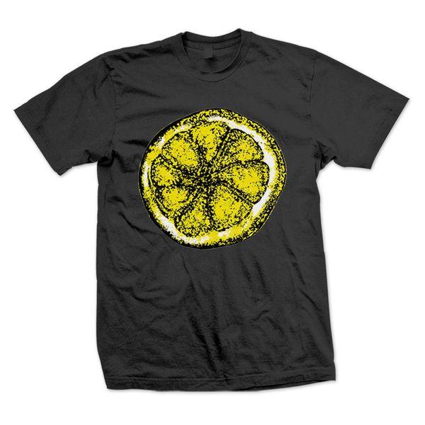 The Stone Roses: Lemon Black T-Shirt
