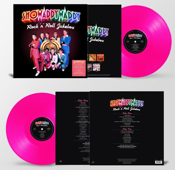 showaddywaddy: Rock 'n' Roll Jukebox: Limited Edition Pink Vinyl