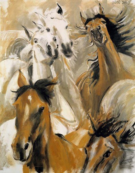 Ronnie Wood: Wild Horses