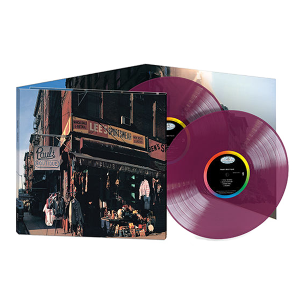 Beastie Boys: Paul's Boutique: 30th Anniversary Exclusive Violet Coloured Vinyl