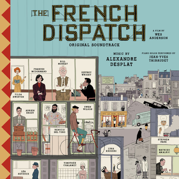 Various Artists: The French Dispatch OST: CD