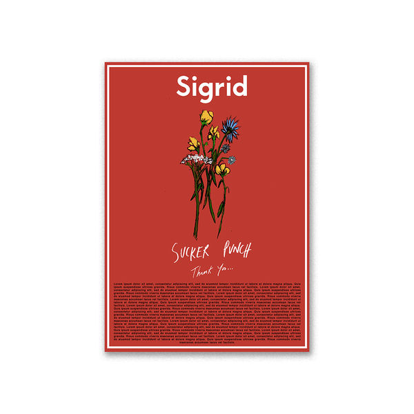 Sigrid: Very Special Poster