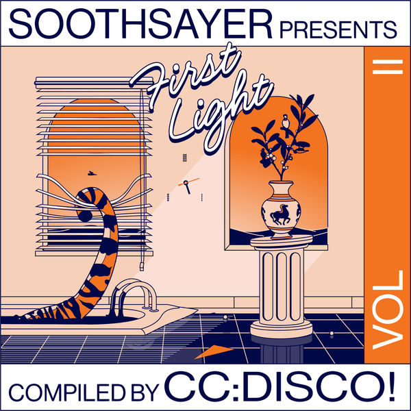 CC:DISCO!: First Light Vol. 2: Limited Edition Transparent Orange Vinyl 2LP