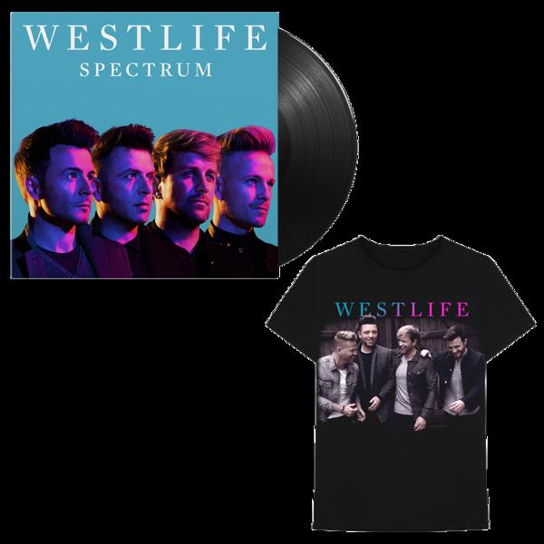 Westlife: Spectrum LP + Tee
