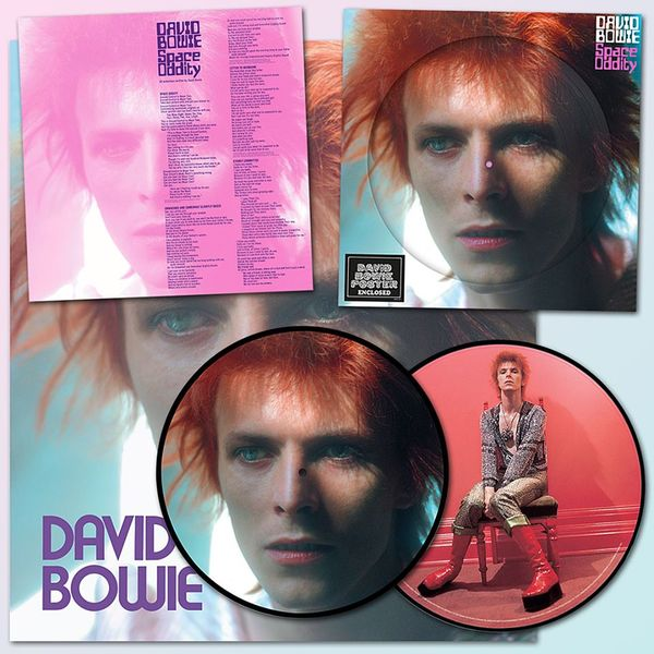David Bowie: Space Oddity: Limited Edition 1972 Picture Disc