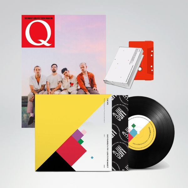 "The 1975: Q MAGAZINE COLLECTORS EDITION 7"" & EXCLUSIVE RED CASSETTE BUNDLE"