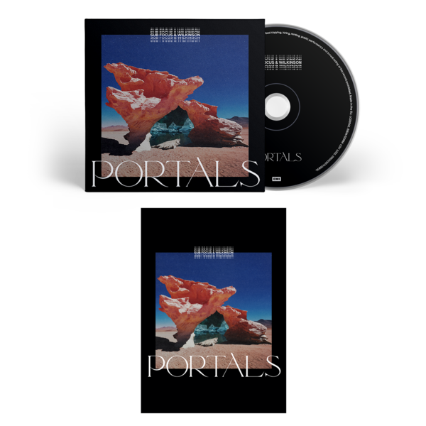 Sub Focus & Wilkinson: CD & Signed Print
