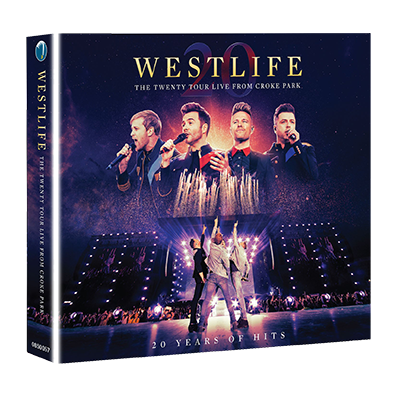 Westlife: THE TWENTY TOUR LIVE FROM CROKE PARK CD/DVD