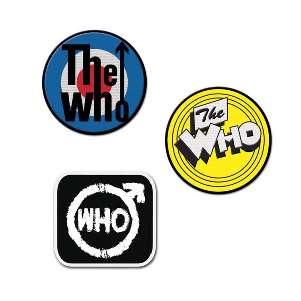 The Who: Logo Patch Set