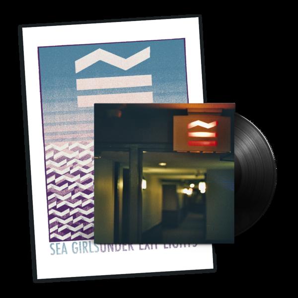 Sea Girls: Under Exit Lights Vinyl + Screen Print