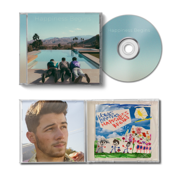 Jonas Brothers: Happiness Begins CD - Exclusive Nick Version