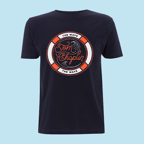 Tom Chaplin: CARRIED BY THE WAVE WORLD TOUR LADIES T-SHIRT - L