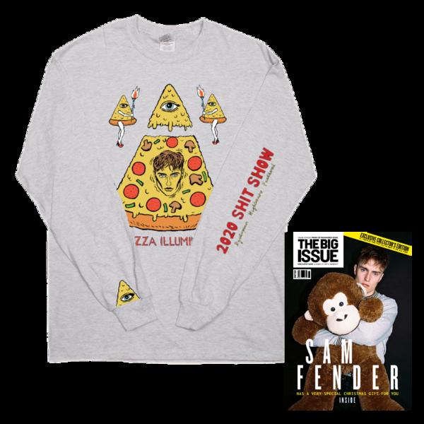 Sam Fender: Pizza Illuminati Longsleeve + The Big Issue Special Edition