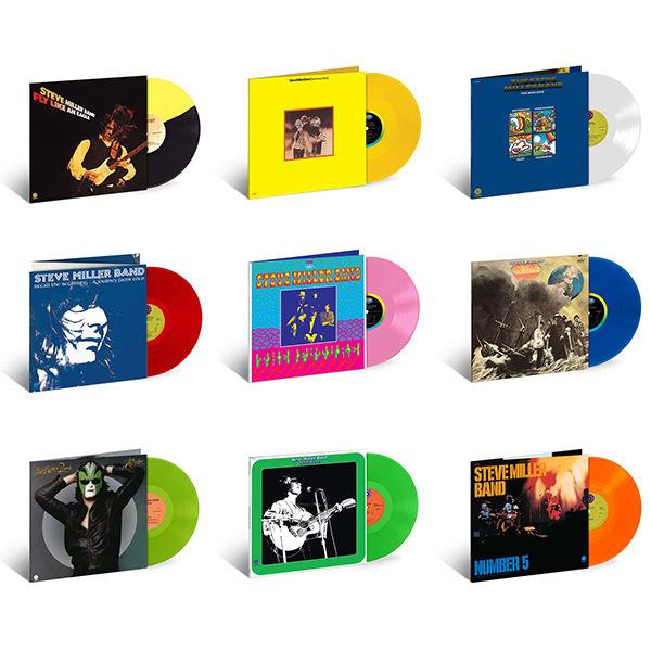 Steve Miller Band: Exclusive Colour Vinyl Bundle