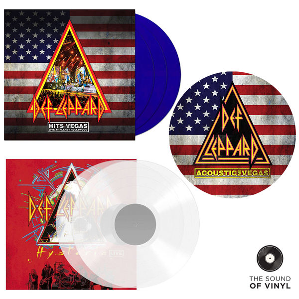 Def Leppard: The Sound Of... Def Leppard: Double Colour Vinyl Editions & Picture Disc Exclusive Bundle