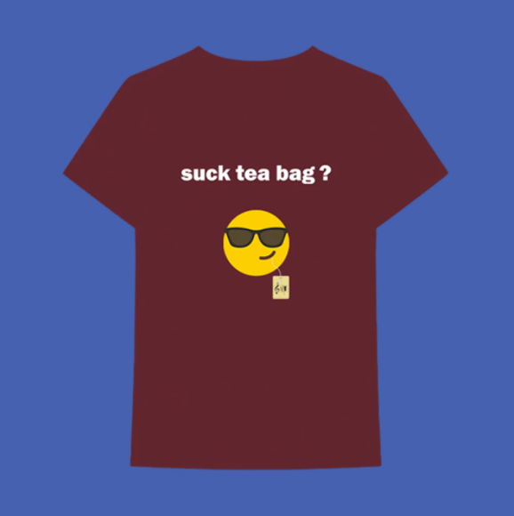 Jacob Collier: Suck Tea Bag T-shirt