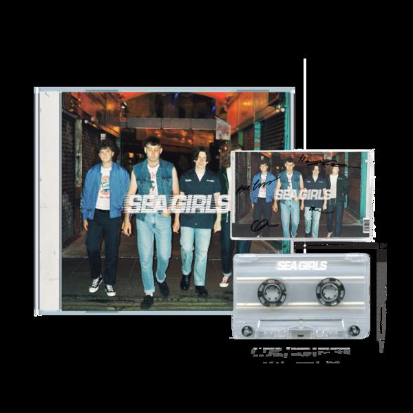 Sea Girls: HOMESICK: CD + SIGNED CASSETTE