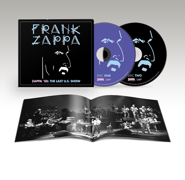 Frank Zappa: Zappa '88: The Last U.S. Show: Soft Pak 2CD