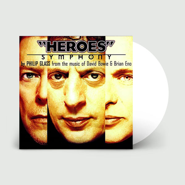 Philip Glass: Heroes Symphony: Limited Edition White Vinyl