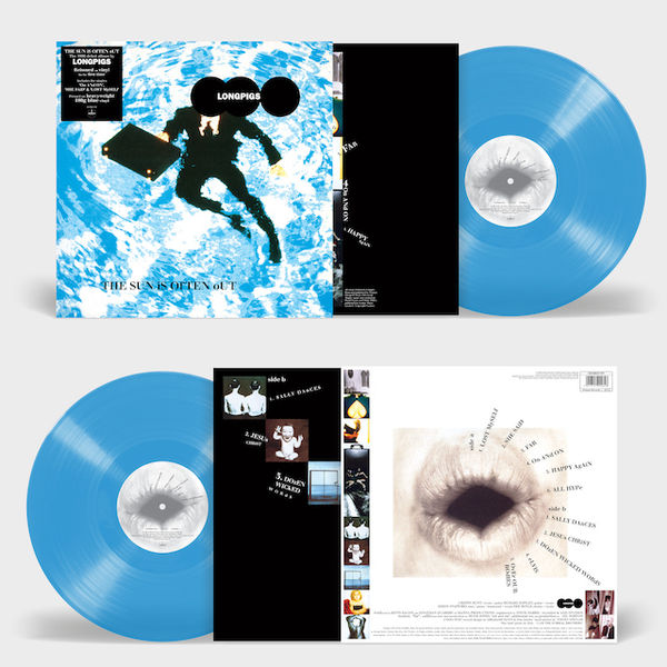 Longpigs: The Sun Is Often Out: Limited Edition Blue Vinyl