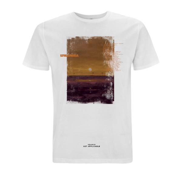 Michael Kiwanuka: Michael Kiwanuka Tour Date T-Shirt White