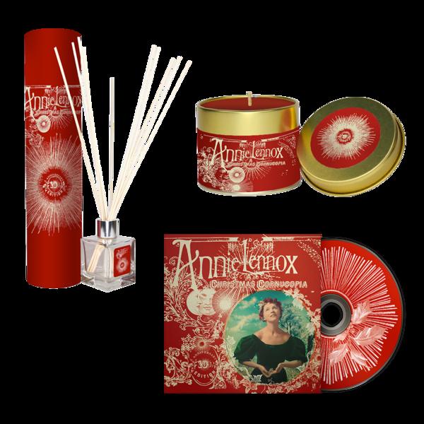 Annie Lennox: A Christmas Cornucopia (10th Anniversary) : CD, Diffuser + Candle